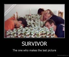 SURVIVOR - The one who makes the last picture