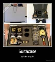 Suitacase - for the friday