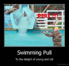 Swimming Pull - To the delight of young and old