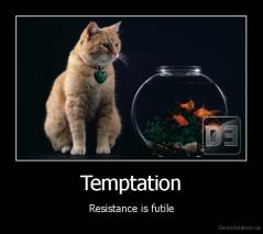 Temptation - Resistance is futile