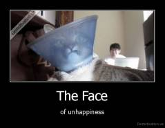 The Face - of unhappiness