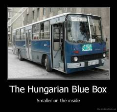 The Hungarian Blue Box - Smaller on the inside