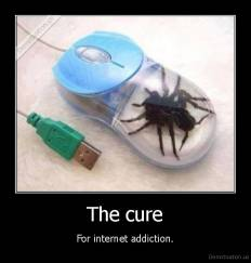 The cure - For internet addiction.