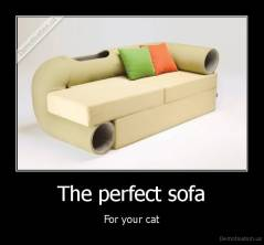 The perfect sofa - For your cat