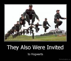 They Also Were Invited - to Hogwarts