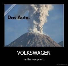 VOLKSWAGEN - on the one photo