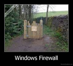 Windows Firewall -