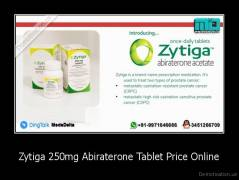 Zytiga 250mg Abiraterone Tablet Price Online -