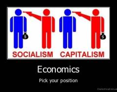 Economics - Pick your position