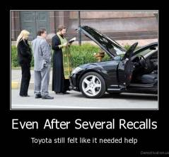 Even After Several Recalls - Toyota still felt like it needed help