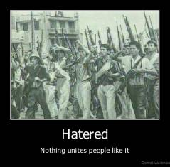 Hatered - Nothing unites people like it
