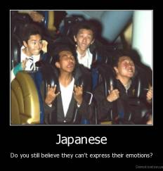 Japanese - Do you still believe they can't express their emotions?