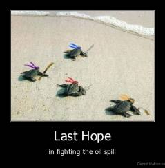 Last Hope - in fighting the oil spill