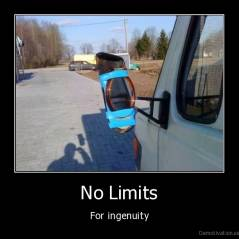No Limits - For ingenuity