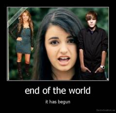 end of the world - it has begun