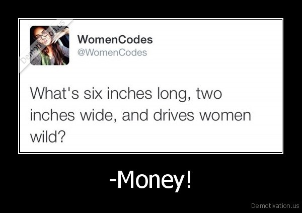woman,money