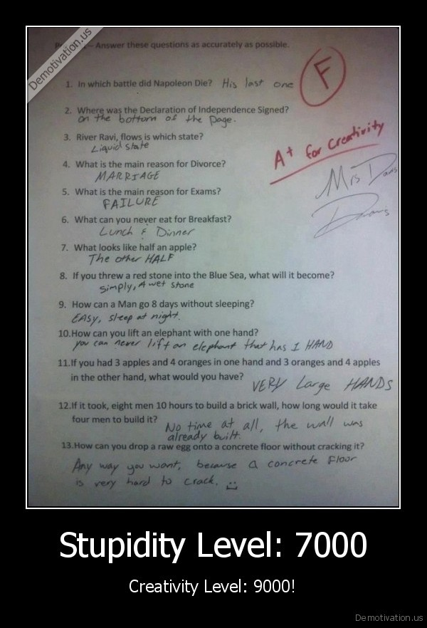 test, answers,funny, test