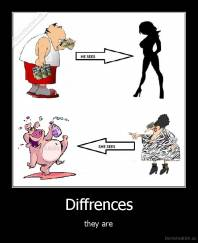 Diffrences - they are