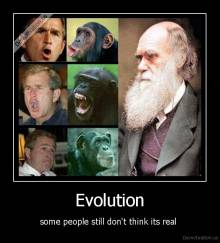 Evolution - some people still don't think its real