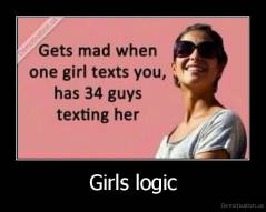 Girls logic -