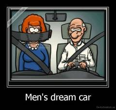 Men's dream car -